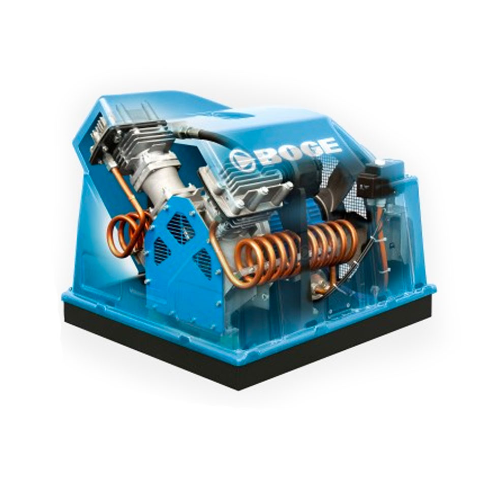 Mäntäkompressori: BOGE PO6