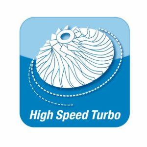 High speed turbo
